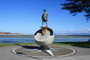 James Cook Denkmal in Gisborne
